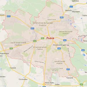 Львів. Карта міста