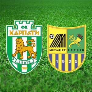 Футбол. Прем'єр-ліга. «Карпати» (Львів) – «Металіст» (Харків)