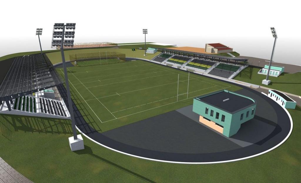 Стадіон «Юність». Проект