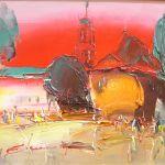 Афіша Персональна виставка живопису Ігора Євсіна «Подорож містом»