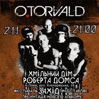 Афіша Концерт гурту «O.TORVALD»