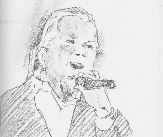 Шкіц Юстини Могитич: «Піккардійська Терція» з концертом «Тиха ніч»