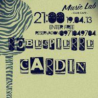 Концерт гурту Robespierre Cardin