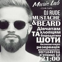 Вечірка Mustache & Beard party @ MusicLab