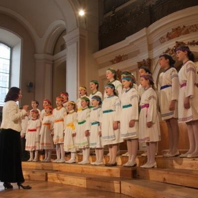 Звітний концерт зразкового хору «Радуниця»