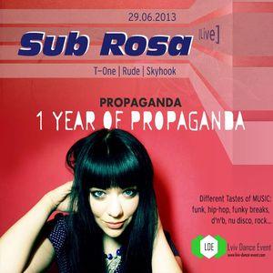 Вечірка 1 YEAR OF PROPAGANDA