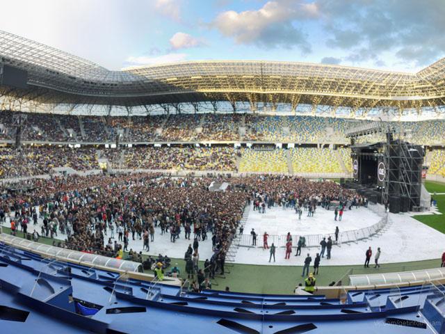 Фото з концерту Океану Ельзи у Львові
