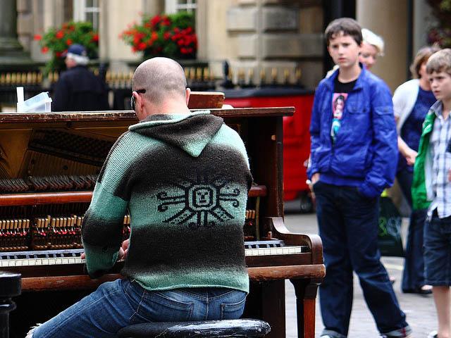 У центрі Львова з'явиться «вуличне піаніно»