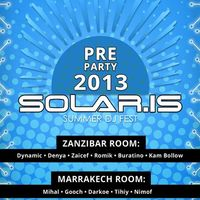 Вечірка PreParty SOLARIS 2013@Zanzibar