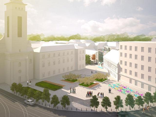 Проекти з реконструкції площі Митної