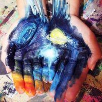 Майстер-клас малювання руками