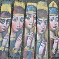 Благодійна виставка-продаж ікон Лева Скопа «Молитва»