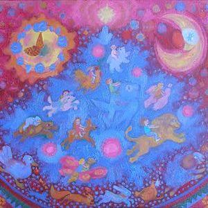 Виставка живопису Олени Каменецькоі-Остапчук «Різдвяна скринька»