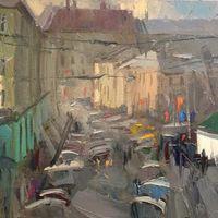 Виставка живопису Івана Драгана «Вулицями Львова»