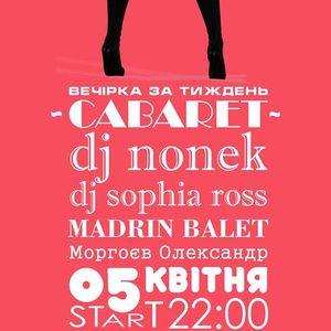 Вечірка Cabaret @ Picasso