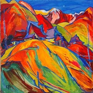 Виставка живопису Володимира Сандюка