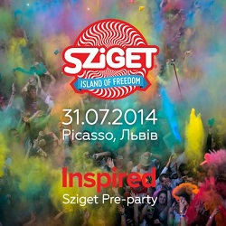 Вечірка «Sziget Pre-Party від Inspired»