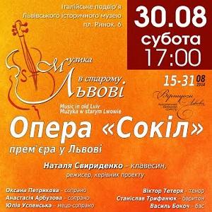 Лірико-комічна опера «Сокіл»