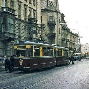 Парад львівських трамваїв