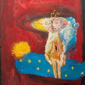 Виставка-продаж картин Мирослав Ягоди для поранених бійців