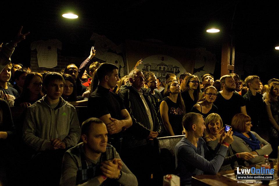 Фото з концерту Дейва Еванса