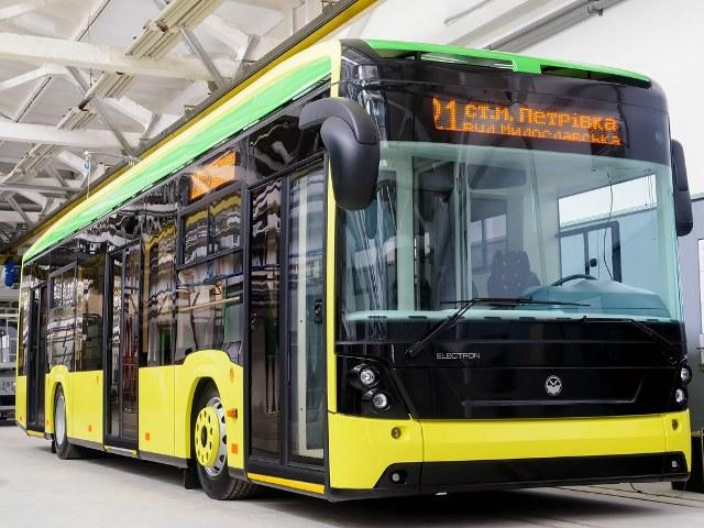 «Електрон» презентував свій перший тролейбус (Т19101)