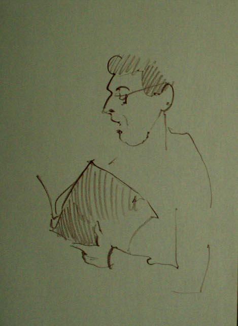 Проект «ΕΣΧΑΤΟΦΟΝIΑ». Шкіц з XIV Jazz Bez. Автор: Юстина Могитич