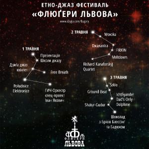 ХІІІ етно-джазовий фестиваль «Флюгери Львова»