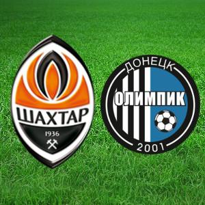 Футбол. Чемпіонат України. «Шахтар» (Донецьк) - «Олімпік» (Донецьк)