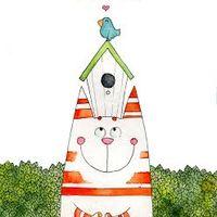 Виставка акварелі Надії Сіверс «Кіт і літо»