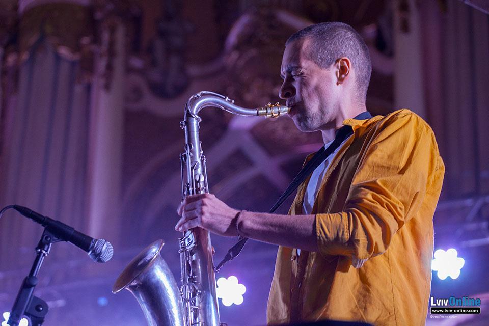Фото з джазового концерту Ewa Novel & ShockolaD