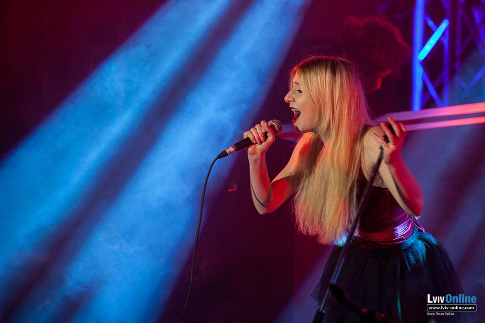 Фото з концерту Vivienne Mort у Львові