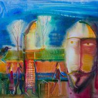 Виставка Романа Опалинського. Живопис на склі та акварелі