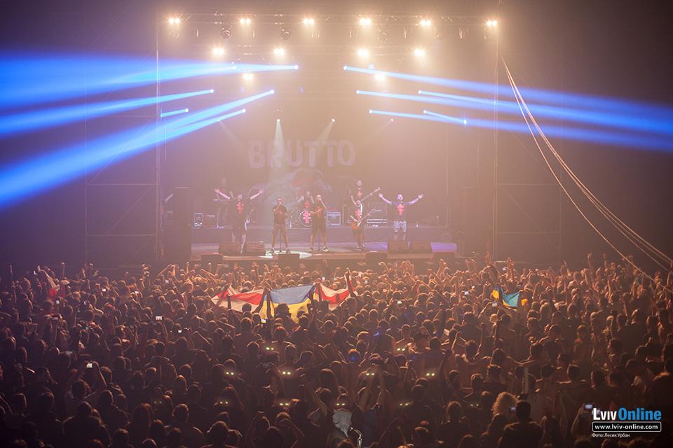 Фотографії з концерту Brutto