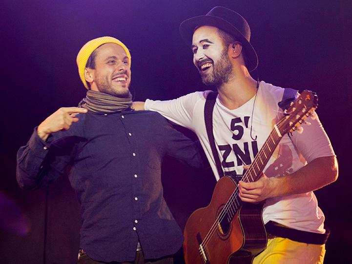 Фото з концерту гурту «5`nizza»