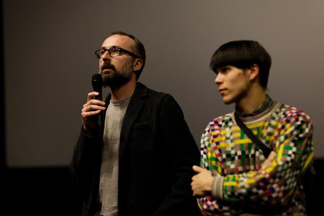 Фото з прем'єрного показу документального детективу «Бранці» у Львові. Фото: Ірина Середа