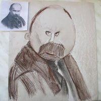 Виставка портретів Шевченка «Перший погляд»