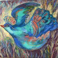Виставка живопису Ірини Фартух «Синя птаха»