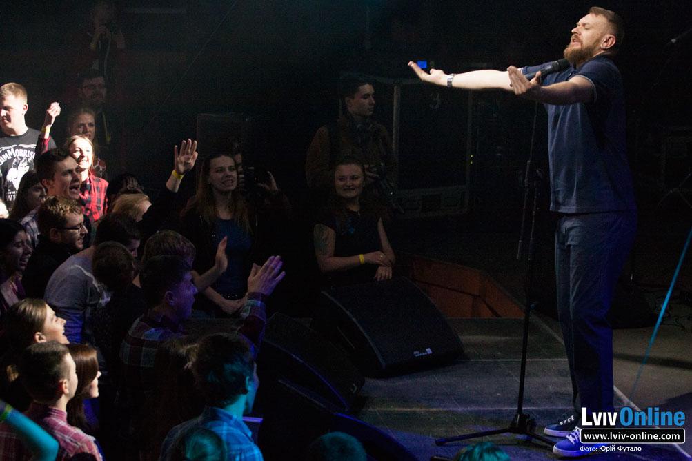 Фото з концерту гурту Тартак у Львові