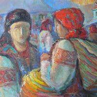 Виставка-продаж «Дорогою в гори» Дмитра Гунца