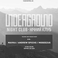 Вечірка Underground @ Underground