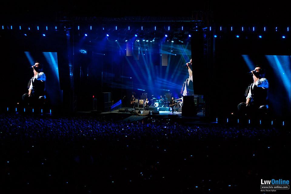 Фото з концерту Океан Ельзи у Львові
