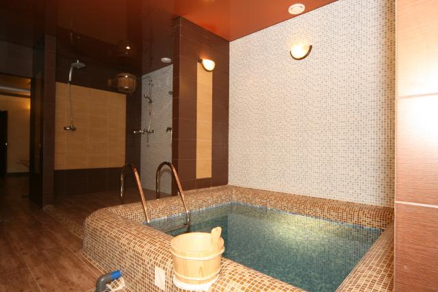 Готель «Фортуна», банний комплекс