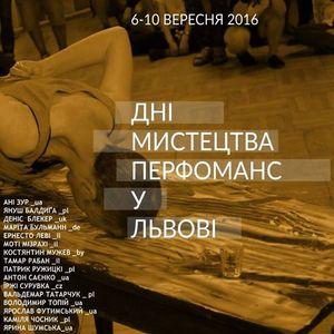Дев'яті Дні мистецтва перфоманс у Львові