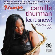 Джазовий концерт Камілли Турман «Нехай сніжить!»
