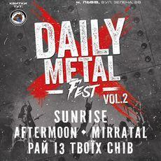 Концерт Daily Metal Fest vol.2