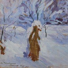 Майстер-клас і тематична екскурсія для дорослих «Зимовий краєвид олійними фарбами»
