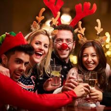 Молодіжна новорічна вечірка у ресторані «Український Дворик»
