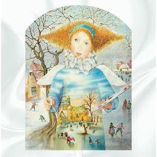 Виставка батику Олени Королюк «Зима на шовку»