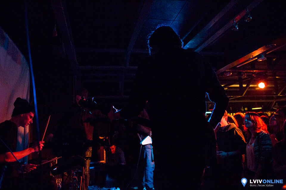 Фото з концерту гурту Latexfauna у Львові